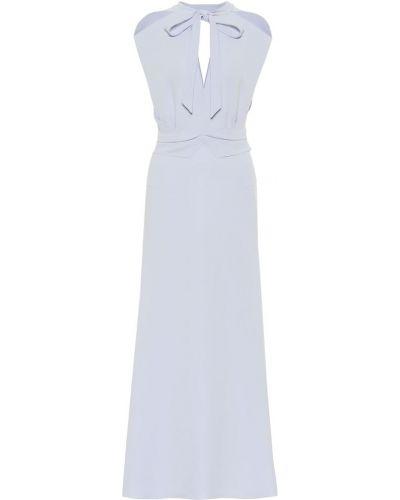 Платье миди - фиолетовое Roland Mouret
