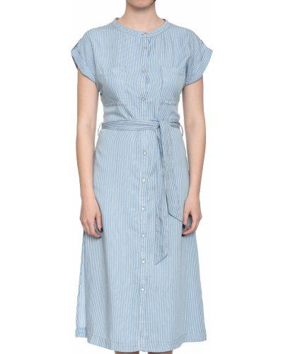 Платье весеннее голубой Patrizia Pepe