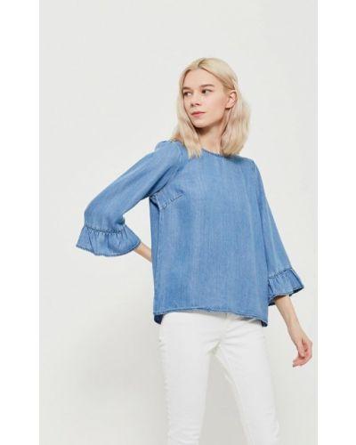 Синяя блузка Vero Moda