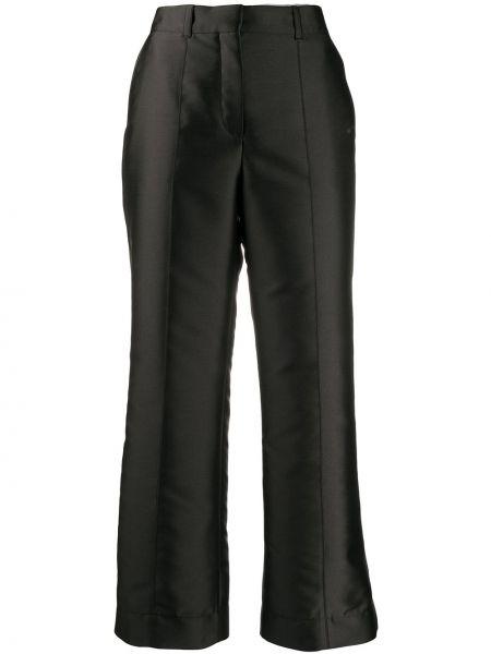 Укороченные брюки с завышенной талией расклешенные Lanvin