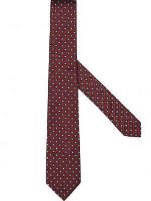 Красная шелковая резинка для волос Ermenegildo Zegna