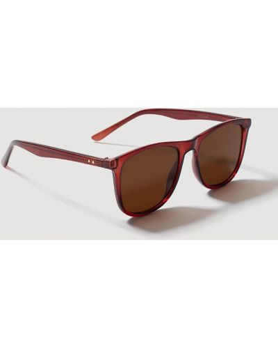 Солнцезащитные очки стеклянные квадратные Mango Man
