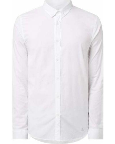Biała koszula bawełniana z długimi rękawami Nowadays