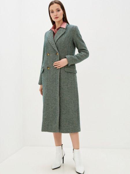 Пальто зеленое пальто Akhmadullina Dreams