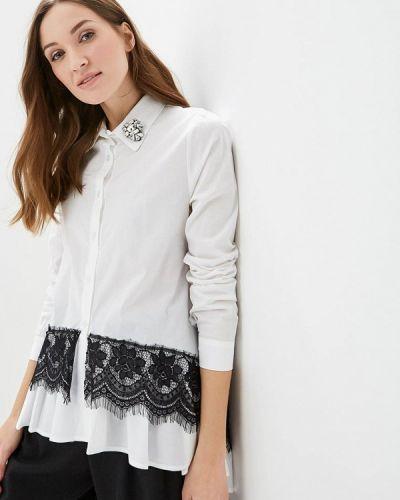 Рубашка с длинным рукавом белая итальянская Hellen Barrett