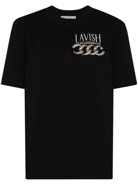 Bawełna bawełna czarny koszula Alexander Wang