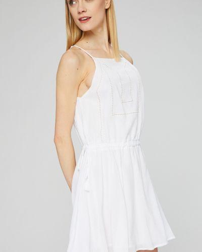Хлопковое платье мини - белое Seafolly