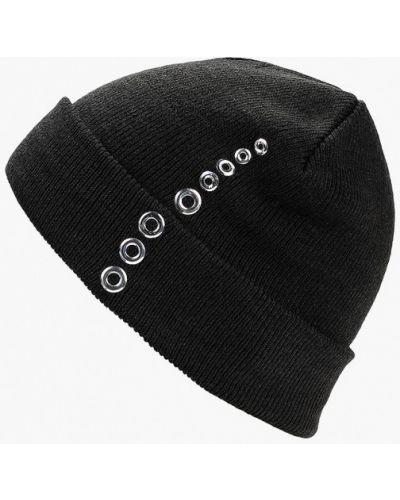 Черная шапка осенняя Keddo