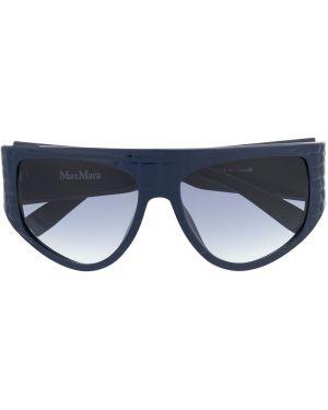 Солнцезащитные очки - синие Max Mara