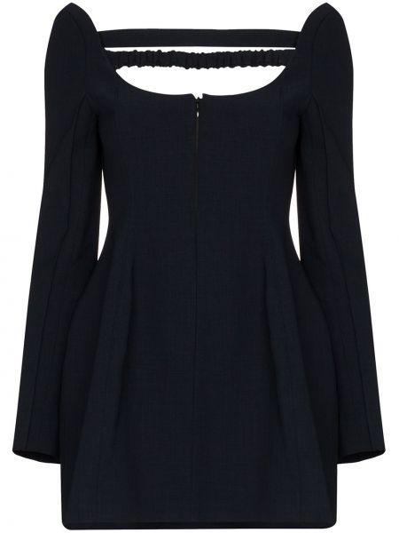 Niebieska sukienka mini Shushu/tong