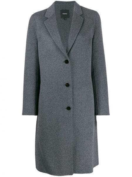 Пальто классическое серое пальто Theory