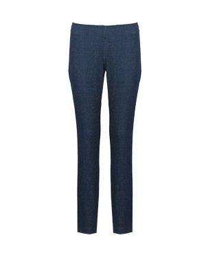 Прямые джинсы расклешенные синие Via Torriani 88