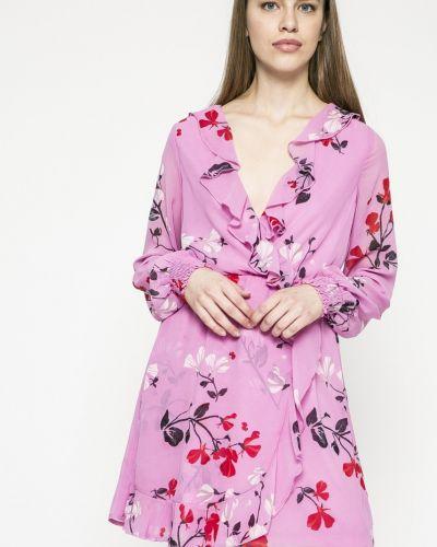 Платье мини с запахом с поясом Vero Moda