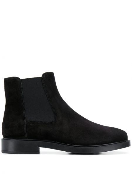 Buty na obcasie na pięcie czarne Tod's