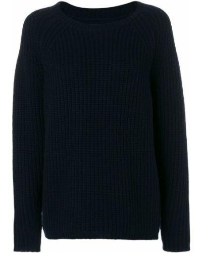 Синий свитер облегающий Nili Lotan
