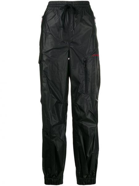 Sportowe spodnie z kieszeniami z łatami Alexander Wang