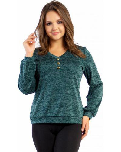 Трикотажная блузка Liza Fashion