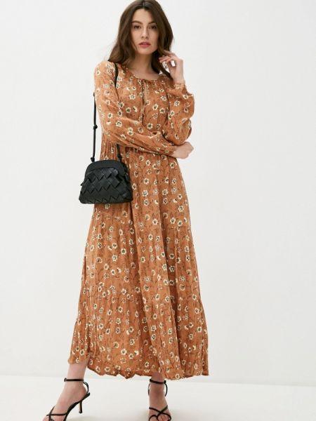 Коричневое платье B.young