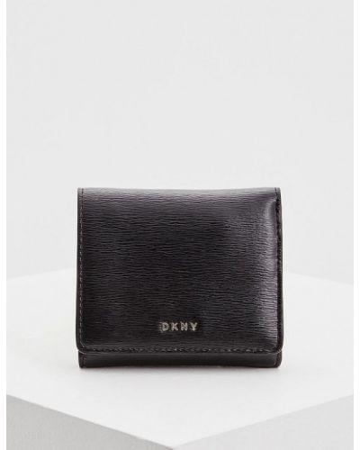 Черный кошелек Dkny