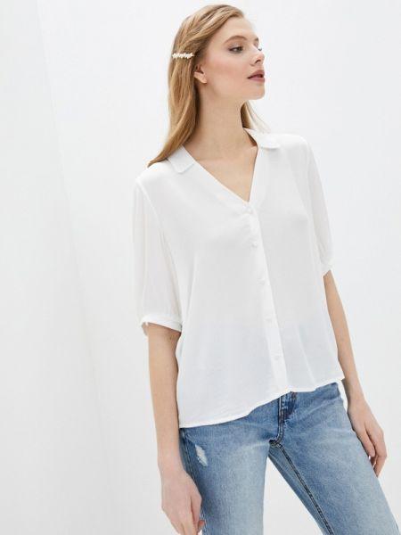 Блузка с коротким рукавом белая весенний Pimkie