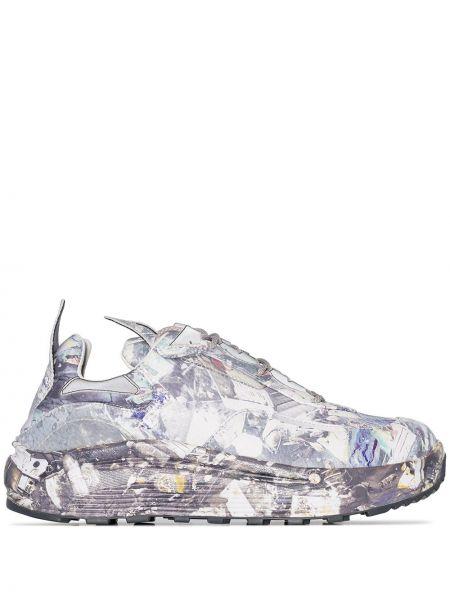Skórzane sneakersy sznurowane Eytys