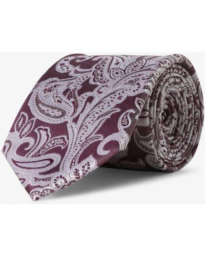 Różowy krawat elegancki Andrew James New York