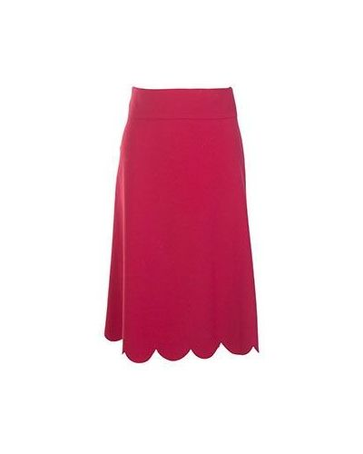 Красная юбка миди Valentino Red
