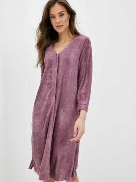 Домашний фиолетовый халат Griol