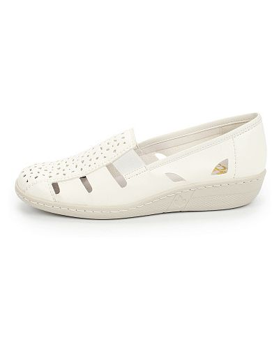 Белые туфли Rieker