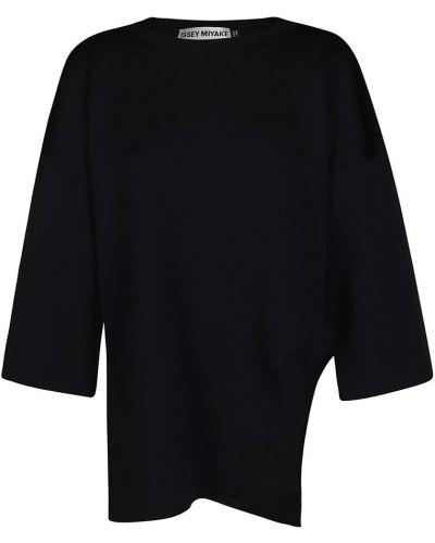Sweter - czarny Issey Miyake