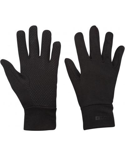 Ciepłe czarne rękawiczki Mountain Warehouse