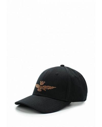 Черная кепка Aeronautica Militare