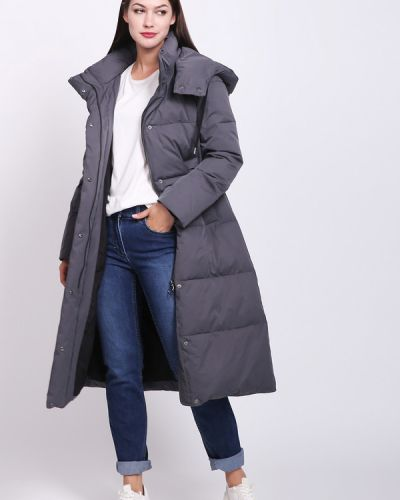 Пальто серое пальто Pezzo
