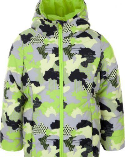 Утепленная куртка демисезонная с капюшоном Demix