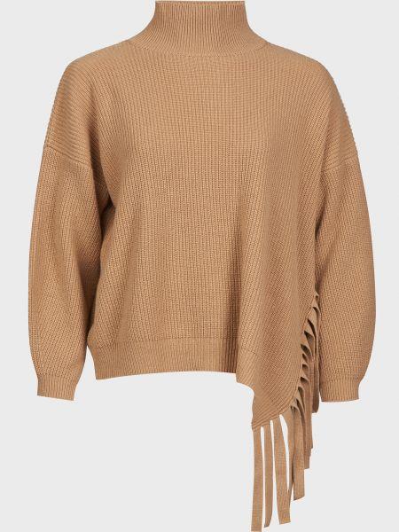 Кашемировый свитер - коричневый Vicolo