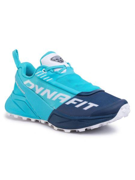 Niebieskie buty sportowe bez obcasa Dynafit