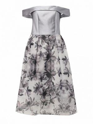Серое весеннее платье Dorothy Perkins
