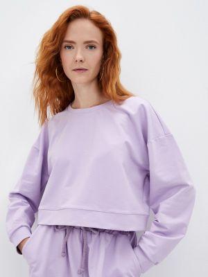 Фиолетовая зимняя кофта Elena Andriadi