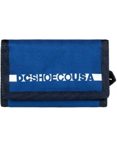 Голубой кошелек Dc Shoes