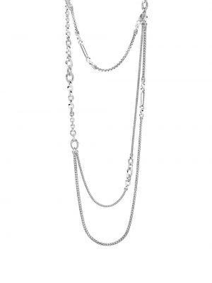Klasyczny naszyjnik łańcuch srebrny John Hardy