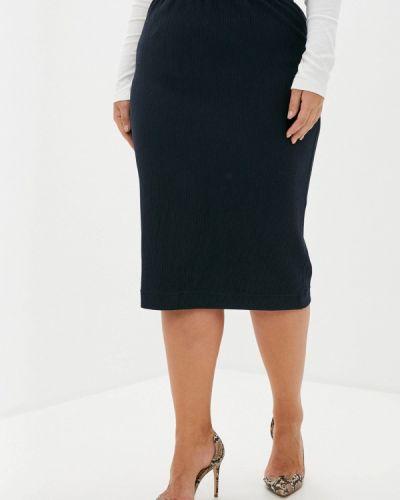 Синяя юбка узкого кроя Intikoma