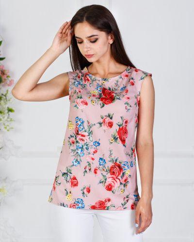 Блузка с разрезом азалия