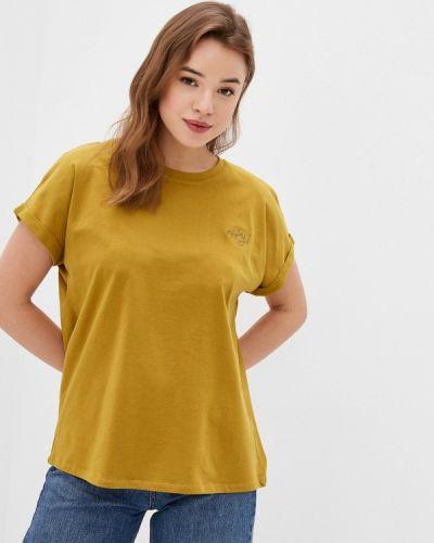 Зеленая с рукавами футболка Sublevel