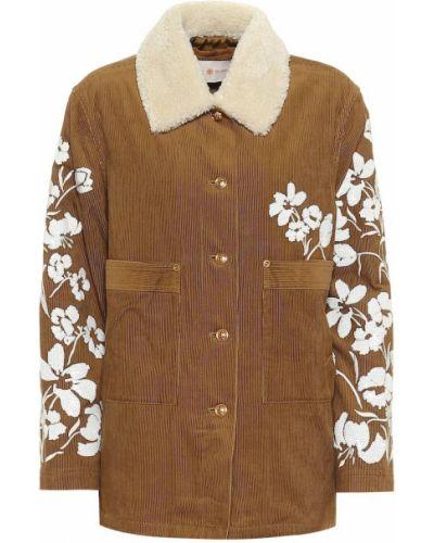 Куртка вельветовая - коричневая Tory Burch