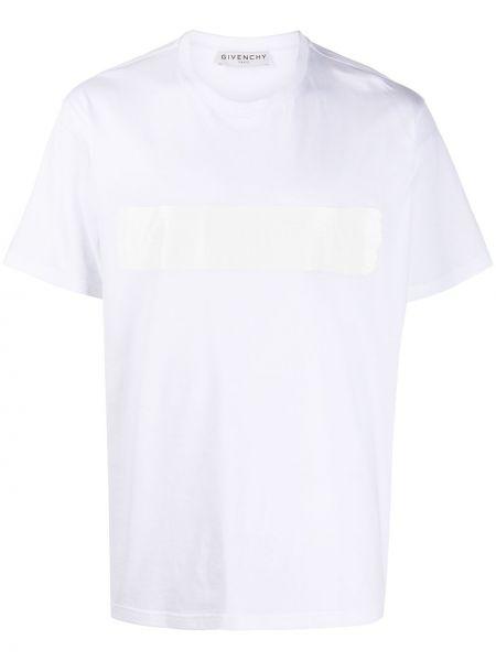 Bawełna bawełna prosto koszula krótkie z krótkim rękawem krótkie rękawy Givenchy