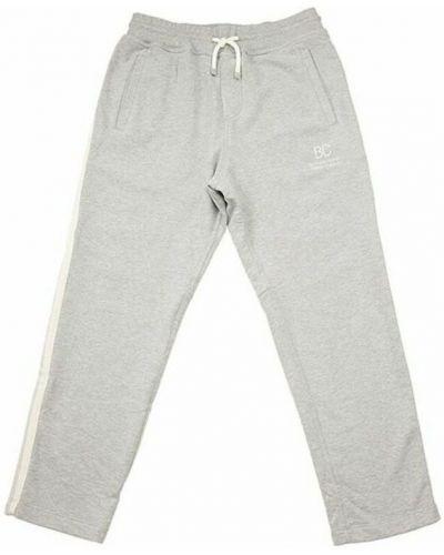 Szare spodnie z printem Brunello Cucinelli