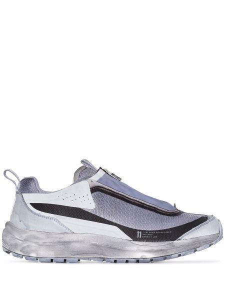 Серые массивные кроссовки со вставками Salomon S/lab