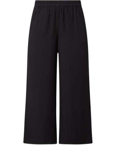 Czarne spodnie z wiskozy Esprit Collection