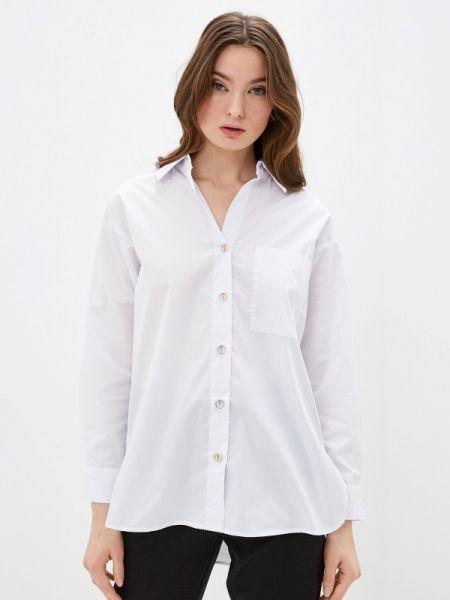 Рубашка с длинным рукавом белая Zarina