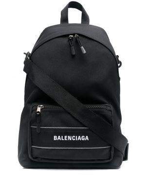 Plecak sportowy - czarny Balenciaga